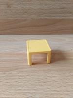 Petite table jaune