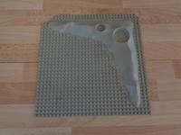 Plaque grise mauvais état ou cassée 32x32 picots