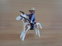 Bandit à cheval