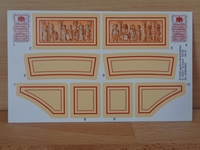 Autocollant playmobil neuf aréne romaine