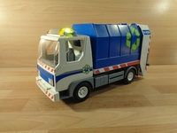 Camion poubelles avec lumière