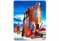 Playmobil Soldats romains et tour d'assaut 4275(boite abîmée