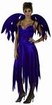 Deguisement Démon femme violet  XS-S SUR PLACE UNIQUEMENT
