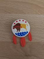 Bouclier indien bison neuf
