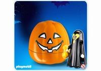 Playmobil Citrouille Halloween Fantôme noir 4771