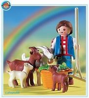 Playmobil Fermier chèvres 3116