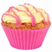 10 moules cupcake muffin ROSE