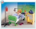 Playmobil Patient et chambre d'hôpital 4405