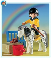 Playmobil Enfant et poney  3119