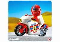 Playmobil Pilote moto de course 3303