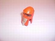 Casque cosmonaute rouge