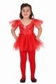 Deguisement costume Danseuse tutu rouge 7-9 ans