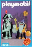 Playmobil Squelette et magicien 3025