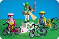 Playmobil Coureurs cyclistes podium 3849
