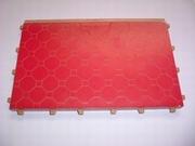Plancher étage rouge