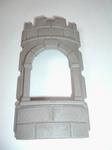 Mur arrondi avec fenêtre