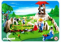 Playmobil Superset bergers, pâture et animaux 4131