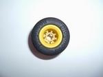 F1 Roue arrière jaune