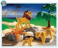 Playmobil Famille de lions 3239