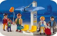 Playmobil Voyageurs arrêt bus 3171