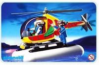 Playmobil Aventuriers hélicoptère de surveillance 3220