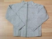 Gilet sweat gris 8 ans