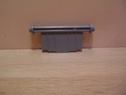 Porte grise pour tapis roulant