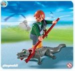 Playmobil Soigneur d'animaux avec caïman 4465