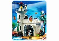 Playmobil Soldats avec phare fortifié 4294(boite abîmée)