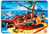Playmobil Superset île des pirates 4136