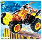 Playmobil Pilote avec voiture transformable jaune 4182