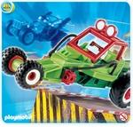 Playmobil Pilote avec voiture transformable verte 4183