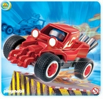 Playmobil Pilote avec voiture transformable rouge 4184