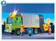 Playmobil Eboueurs camion ordures ménagères 3121