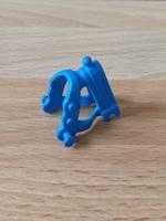Collier bleu pour cheval