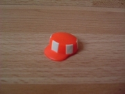 Casquette de chantier orange