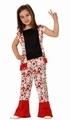 Deguisement costume Hippie fille 7-9 ans