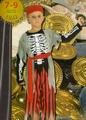Deguisement costume Pirate Squelette 7-9 ans
