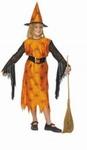 Deguisement costume Sorcière Halloween 4-6 ans