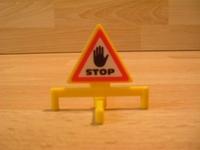 Panneau Stop Danger