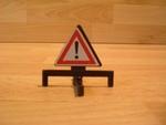 Panneau  triangle danger