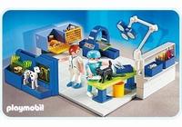 Playmobil Equipe vétérinaires et salle d'opération 4346