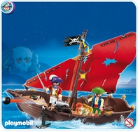 Playmobil Chaloupe des Pirates 4444