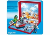 Micro Playmobil Port 4337