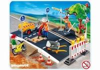 Playmobil Ouvriers et entretien de route 4047