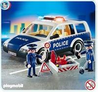 Playmobil Voiture de Police et patrouille 4260