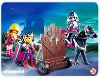 Playmobil Barbares et mur d'assaut mobile 4437