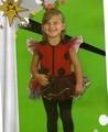 Deguisement costume Coccinelle avec tutu 3-4 ans