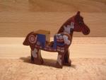 Cheval indien marron