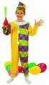 Deguisement costume Clown Arlequin 7-9 ans